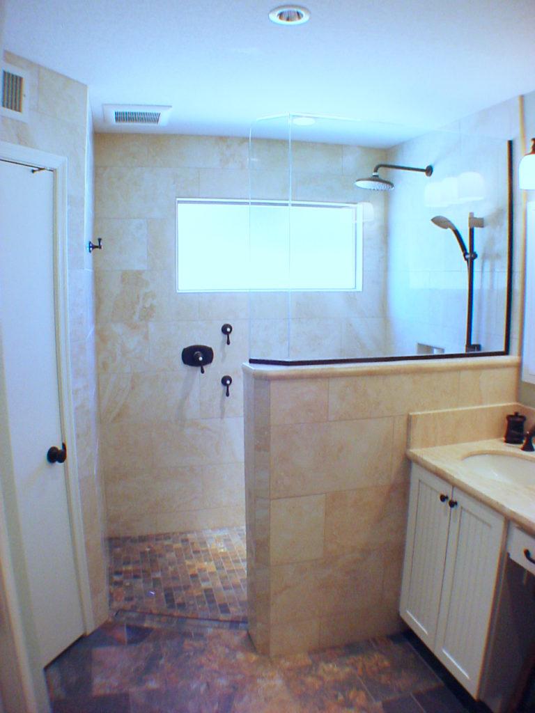 Mesa Walk In Shower Zero Entry Shower Bath