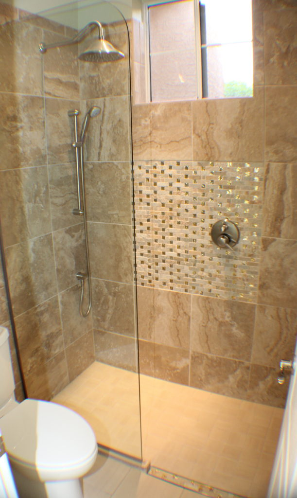 Zero Entry Shower With Deco Shower Bath Connection Llc